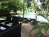 "Diani Beach Cottage ""Villa Malachite"" Veranda"