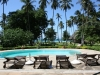 Ferienhaus Kenia Blick vom Pool