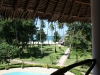 Ferienhaus Kenia Ausblick vom Balkon
